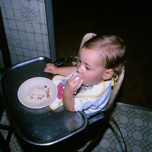1990-09 Amanda's 1st Birthday