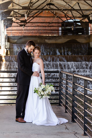 Emily & Will's Industrial Elegance Wedding at the Rickhouse in Durham. Plus Craft Beer!