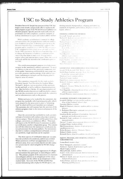 Summer Trojan, Vol. 152, No. 3, June 02, 2004
