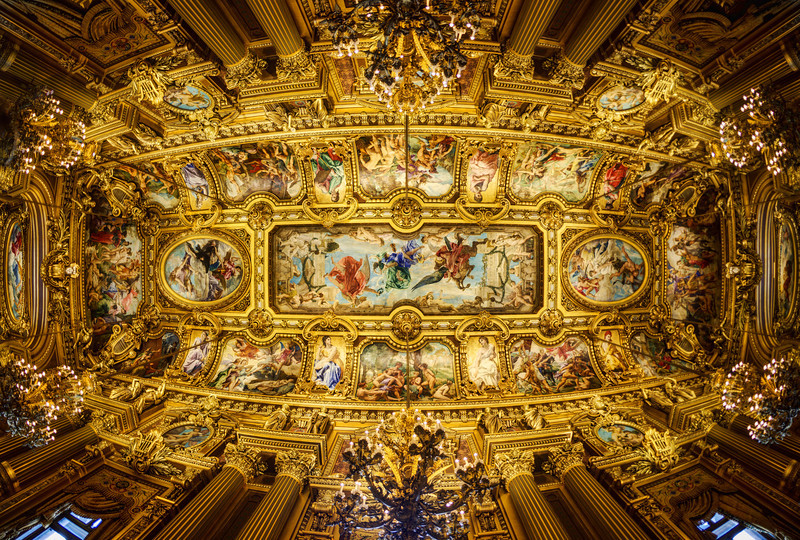 The Ceiling of the Paris Opera House I stole this photo-taking idea from Matt Knisely! At first, I would lay down on my back and try to get the shot. But that was frustrating and bothersome. Then I saw Matt just put his camera on the ground with a timer then run away! So that's what I did to get this shot… although it took a few takes to get it to line up right…- Trey RatcliffClick here to read the rest of this post at the Stuck in Customs blog.