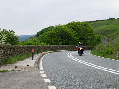 Yorkshire bike weekend May 2014