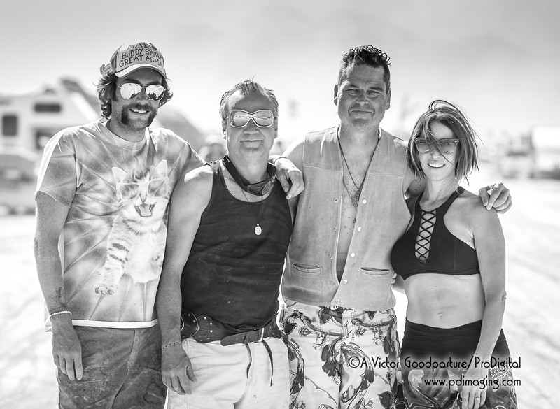 The friendly, community feeling in Burning Man is palpable and real.