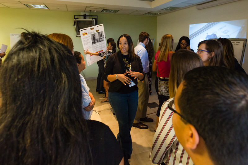 """The Palm Beach Post's Diversity and Inclusion team hosted """"A Day in the Life"""" for college students. (Joseph Forzano / The Palm Beach Post)"""