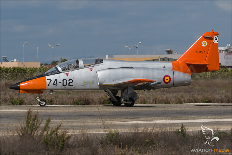 Spanish Air Force / CASA C-101 Aviojet / E.25-33 74-02