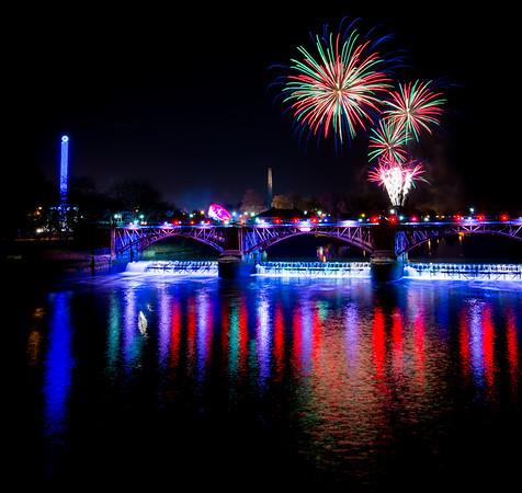 Glasgow Green Fireworks Display