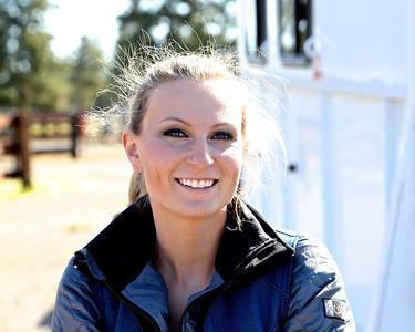 Miss Oregon Trail Appaloosa Courtney Satko @ The R & B Ranch 5-01-14