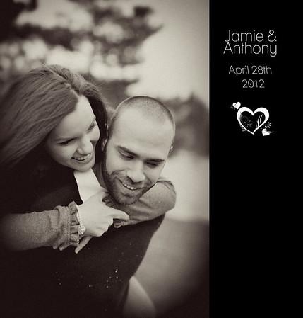Jamie & Anthony Reception Album