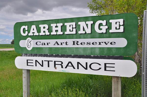 Carhenge - Memorial Day 5-26-14