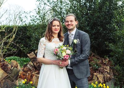 Claire&Sam, Haughley Park Barn