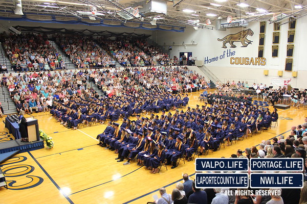 New Prairie High School Graduation 2017