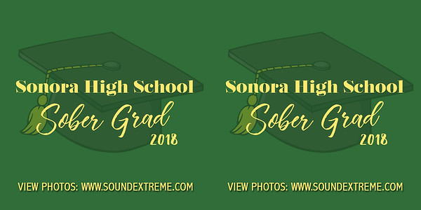 Sonora High Sober Grad 2018