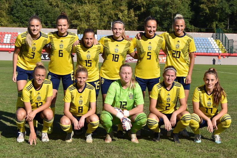 Belgian Red Flames U19 - Sweden U19