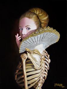 """""""Skin Deep"""" (oil) by Joseph Bellofatto"""