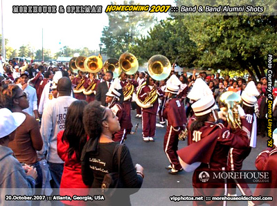 Homecoming 2007 ::: Band & Band Alumni Shots ::: ATL, GA [Oct.20.2007]