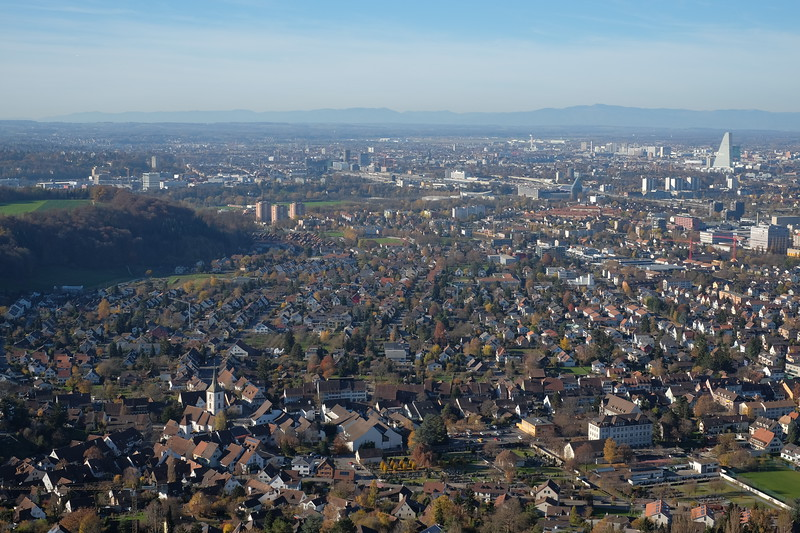 view from Ruine Wartenberg