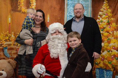 St. Martin de Porres Marianist School Breakfast with Santa - 2014