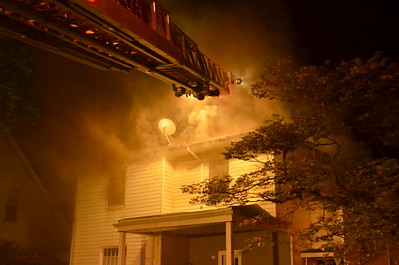 05-14-13 Coshocton FD House Fire