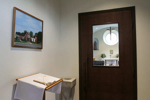 Blessing for St. Bernadette's New Parish Center