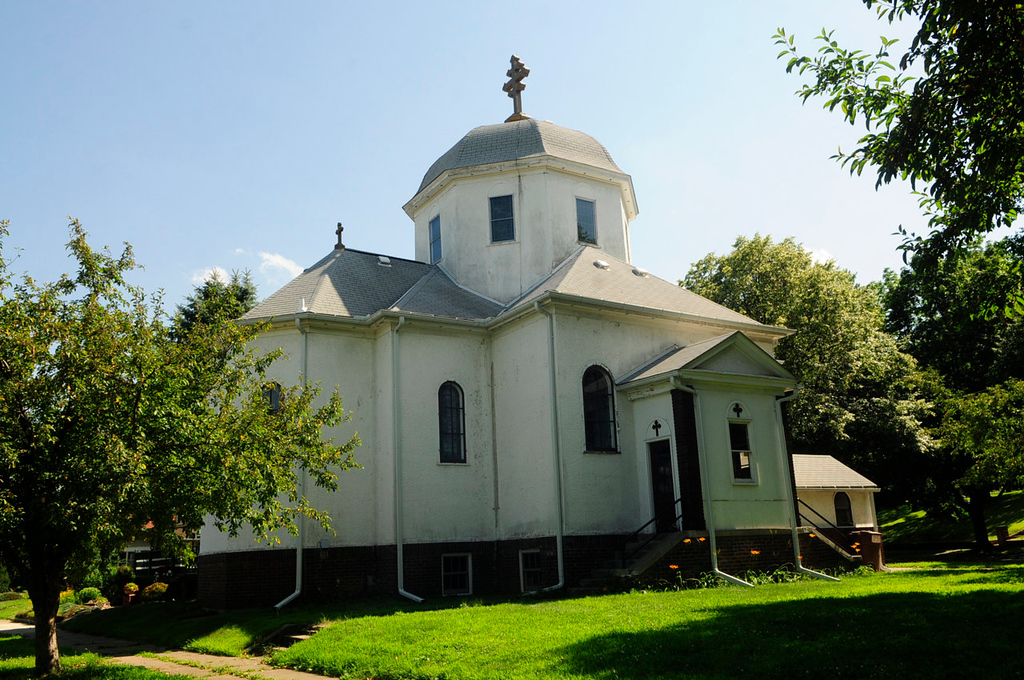 ". St. Stefan\'s Romanian Orthodox Church, which is included on the National Register of Historic Places, is  part of a tour of the historic ""Pill Hill\"" section of South St. Paul this coming weekend. (Pioneer Press: Scott Takushi)"