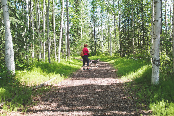 Hiking with Rachel