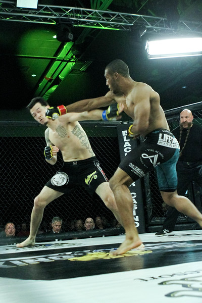 Israel Lozano vs Clarence Jordan