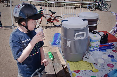 3.15.2009 - Connor at the BMX Track