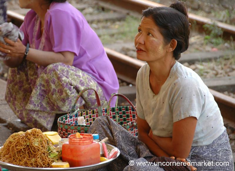 Train Station Noodles - Toungoo, Burma