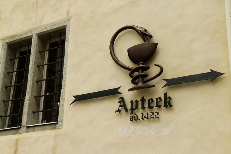 Town Hall Pharmacy (Raeapteek) -Tallinn, Estonia