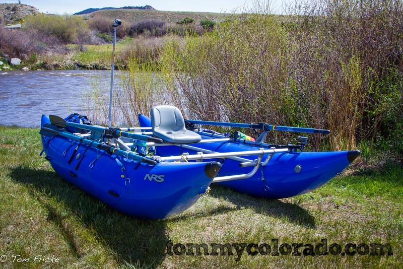 Tom Fricke's boat