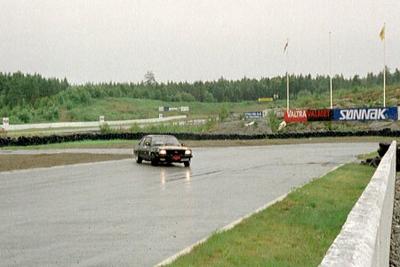 Gatebil på Rudskogen