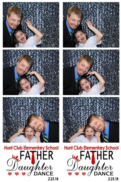 """Hunt Club Elementary School """"Father Daughter Dance 2018"""""""