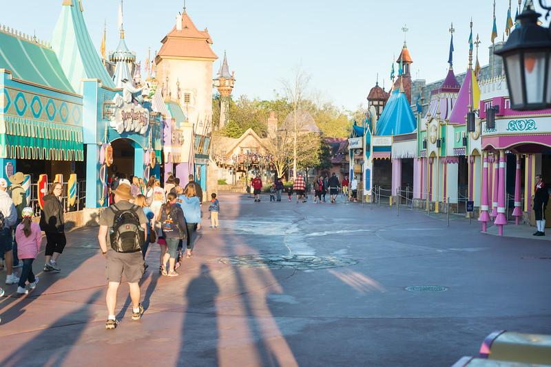 Empty Fantasyland - Magic Kingdom Walt Disney World