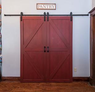 Barn Door Pantry