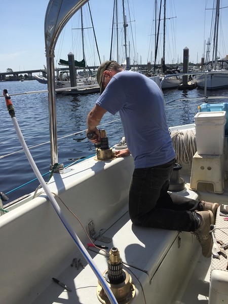 Installing new winches