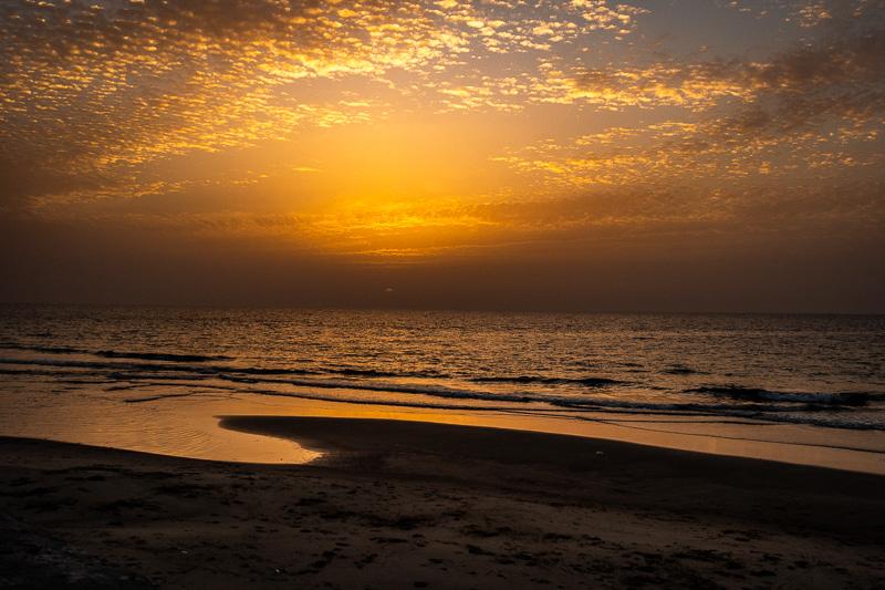 October 24 - Sunset over Namal, the Port of Tel Aviv, Israel.jpg