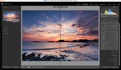 Lightroom - How To Fix The Exposure