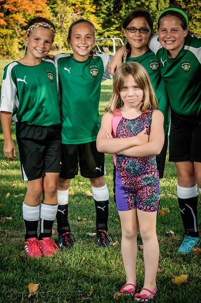 2014 PSC U10 Green Team Photos