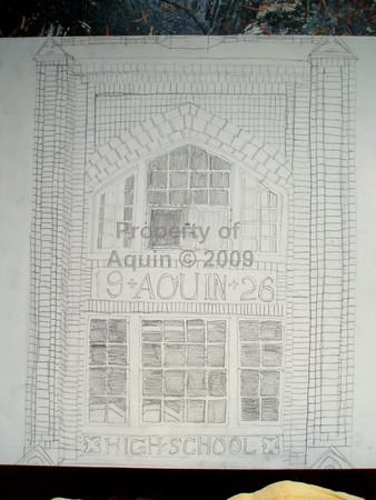 8th grade drawings of aquin . may 2006