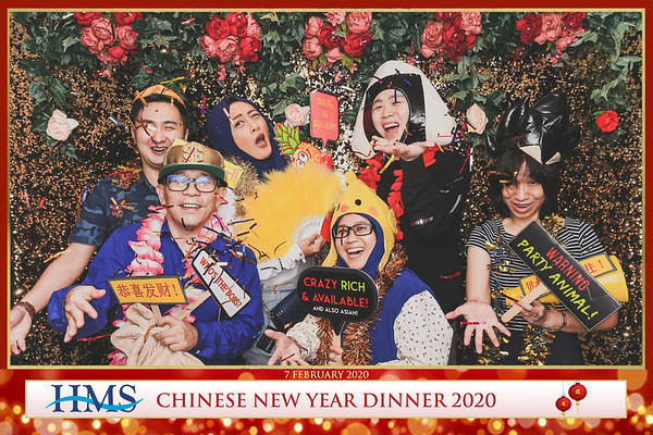 HMS Chinese New Year Dinner 2020