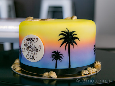 8''' Birthday Cake