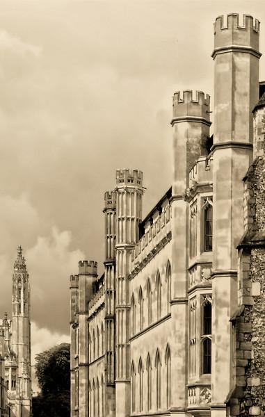 Spires, Cambridge, UK
