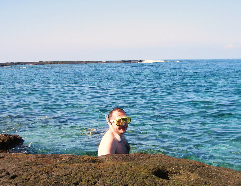 Snorkeling at the City of Refuge