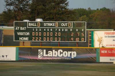 Averett/ NCWesleyan41708  2008 USA South Baseball Tournament