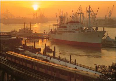 Hamburg with Ships