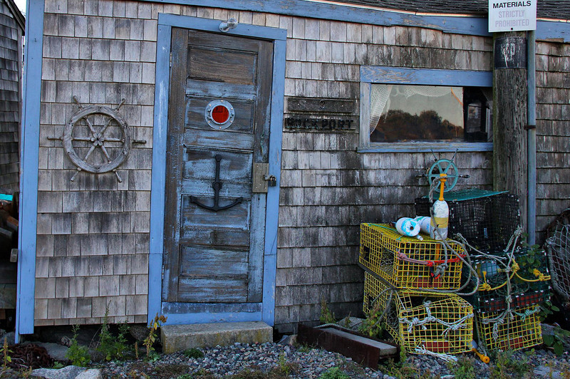 Fishing shack. Rockport, Mass.