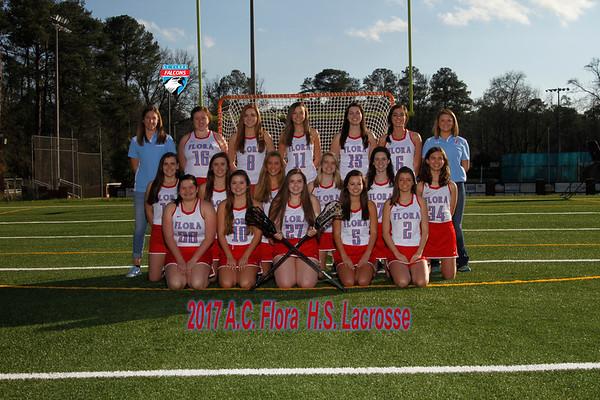 2017 Girls Varsity  Lacrosse
