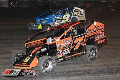 Volusia Speedway Park - Super DIRTcar Series - 2/12/21 - John Sweeten
