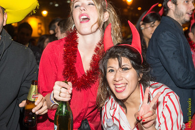 Nochevieja/NYE 2013 - 2014 @ Plaza de Armas - Cusco - Perú