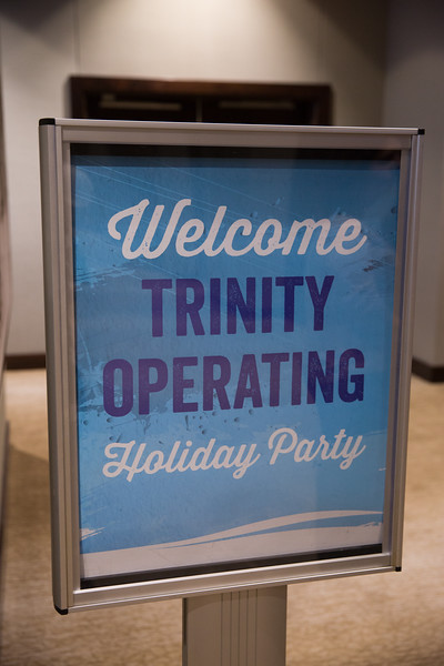 Trinity Operating Christmas Party Pix