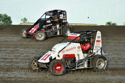 Gas City 06-13-12 USAC Midgets
